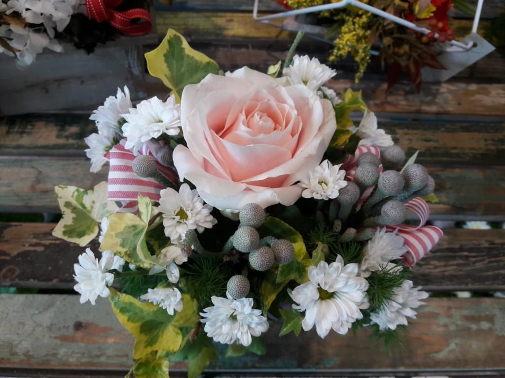 composizone floreale rose-margherite